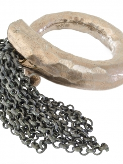 Gold and Antique Silver Multi-Chain Ring