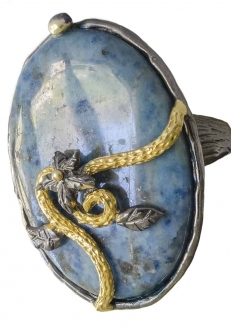 Blue Lolite RIng