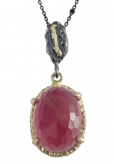 Garnet Crystal Pendant