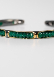 Emerald Green Bangle