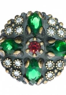 Multi-Color Crystal Rings